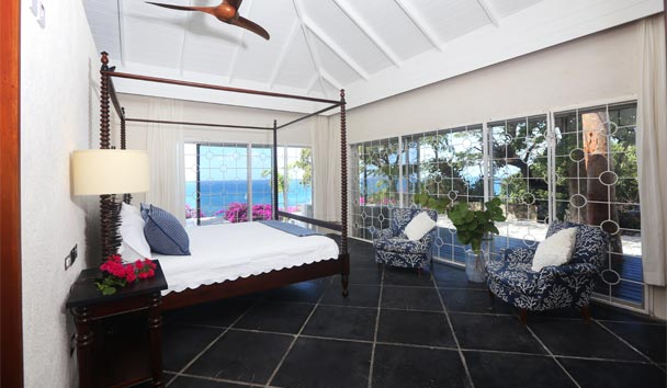 Morne Trulah: Northwest bedroom