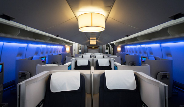 British Airways: Club World Cabin