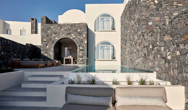 Canaves Oia Epitome: Aqua Retreat Villa