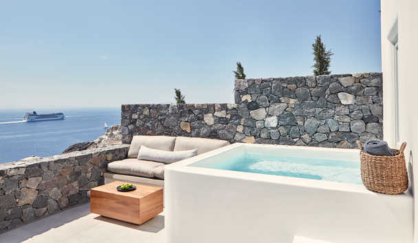 Canaves Oia Epitome: Honeymoon Suite