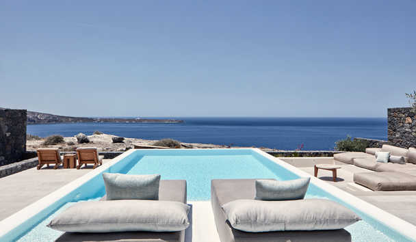 Canaves Oia Epitome: Epitome Pool Villa