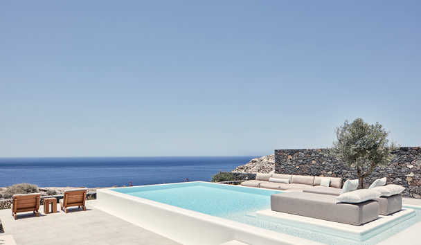Canaves Oia Epitome: Pool and view