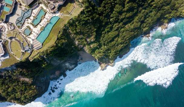 Six Senses Uluwatu: Aerial View