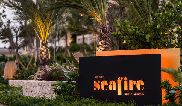 Kimpton Seafire Resort & Spa: Entrance