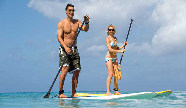 Treasure Beach by Elegant Hotels: Paddle Boarding