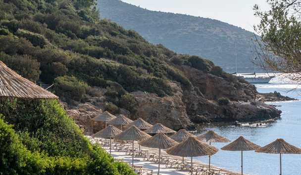 Kempinski Barbaros Bay: Beach