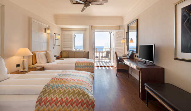 Kempinski Barbaros Bay: Standard Room Twin Beds