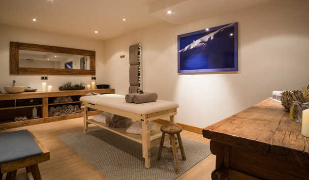 Portetta Mountain Lodges: Chamois Lodge Massage Room
