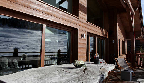 Portetta Mountain Lodges: Chamois Lodge Balcony
