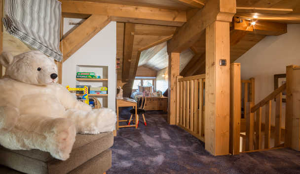 Portetta Mountain Lodges: Blanchot Lodge Children's Facilities