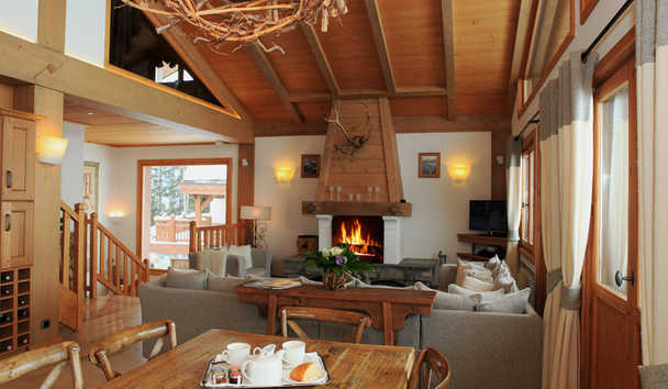 Portetta Mountain Lodges: Marmotte Lodge Living Area