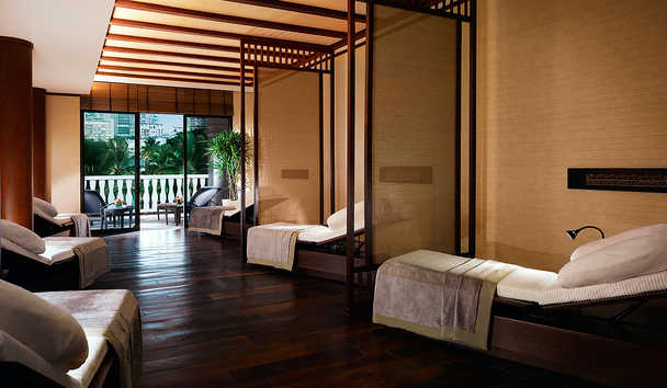 The Peninsula Bangkok: The Peninsula Spa Relaxation Lounge