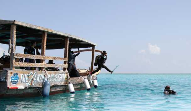 Matemwe Retreat: Diving