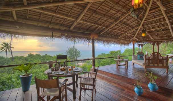 Matemwe Retreat: Villa Outdoor Deck