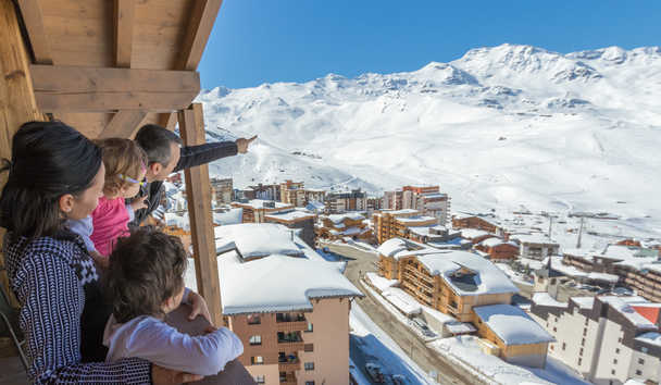 Les Chalets du Koh-I Nor: View