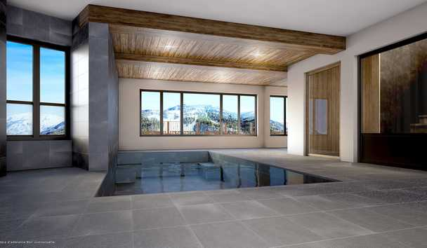 Les Chalets du Koh-I Nor: Indoor Pool