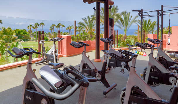 The Ritz-Carlton, Abama: Gym Terrace