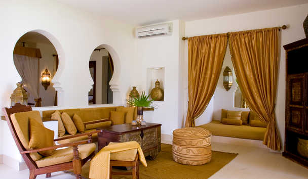 Baraza Resort and Spa: Villa Lounge