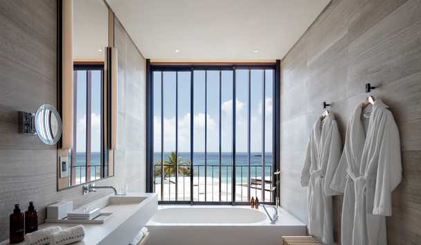 Silversands Grenada: Ocean View Room Bathroom
