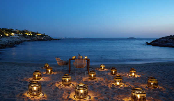 Six Senses Kaplankaya: Private Beach Dining