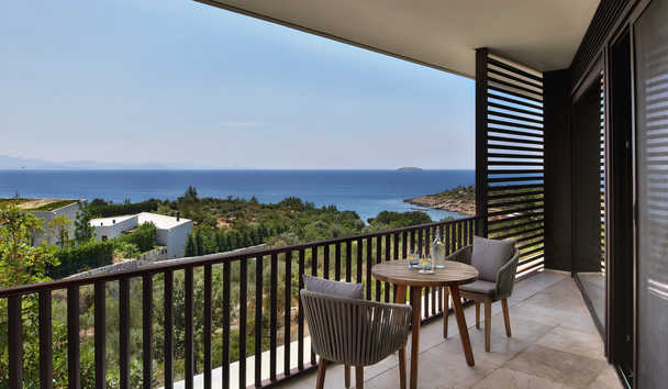 Six Senses Kaplankaya: Seaview Junior Suite Balcony