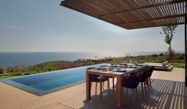 Six Senses Kaplankaya: Three Bedroom Residence Pool Terrace