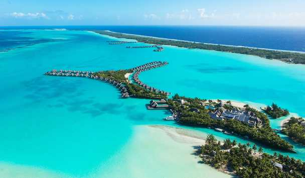 The St. Regis Bora Bora: Aerial View