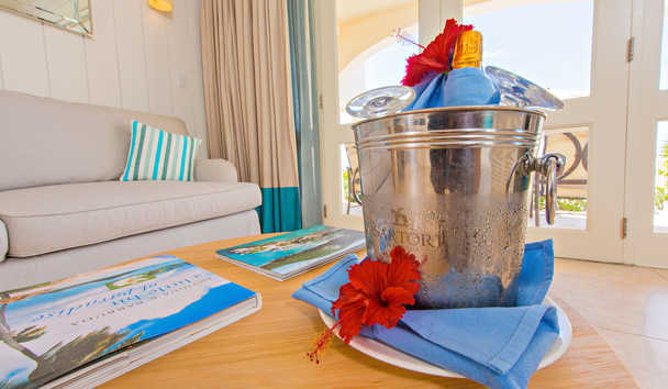 Blue Waters Resort & Spa: Arrival Amenities