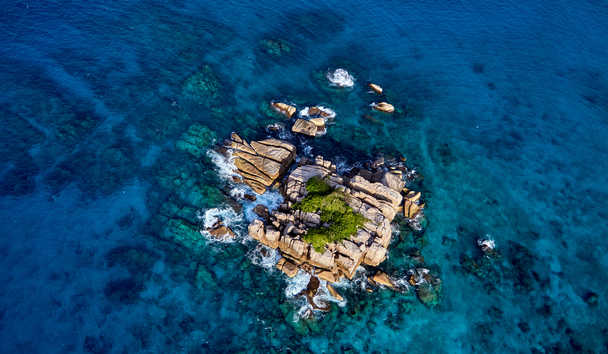 Six Senses Zil Pasyon: Aerial View
