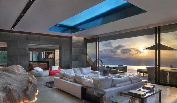 Six Senses Zil Pasyon: Residence Living Room