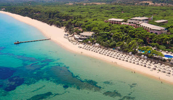 Forte Village - Le Palme: Beach View