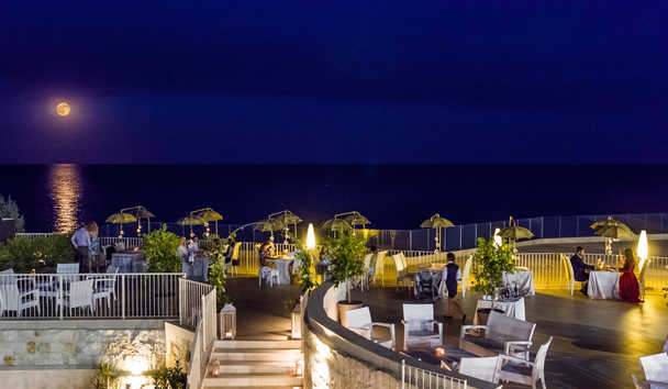 Forte Village - Le Palme: Dinner on Forte Terrace