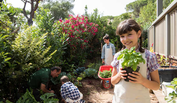 Forte Village - Le Palme: Vegetable Garden