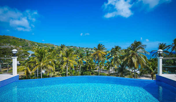 Bequia Beach Hotel: Estate Villa Pool