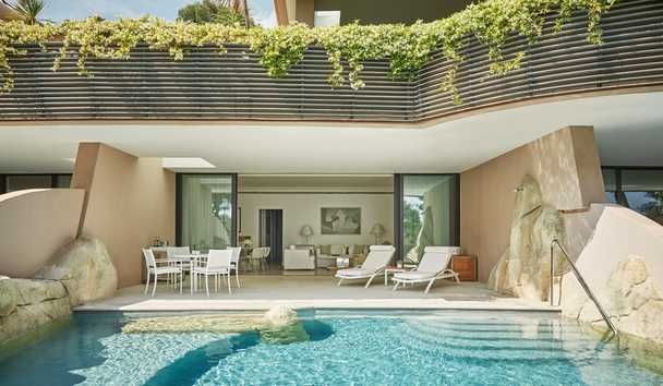Grand-Hôtel du Cap-Ferrat, A Four Seasons Hotel: Four Seasons Pool Suite