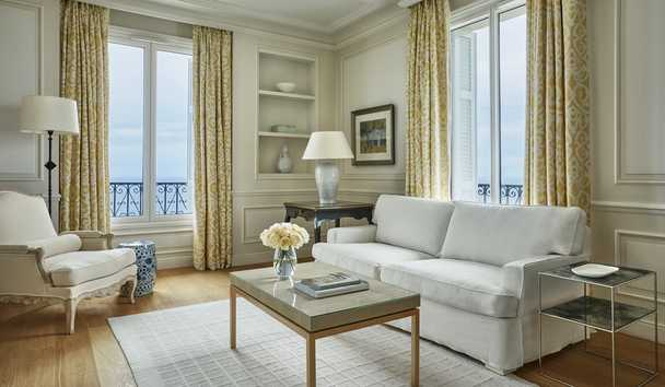 Grand-Hôtel du Cap-Ferrat, A Four Seasons Hotel: Four Seasons Seaview Suite