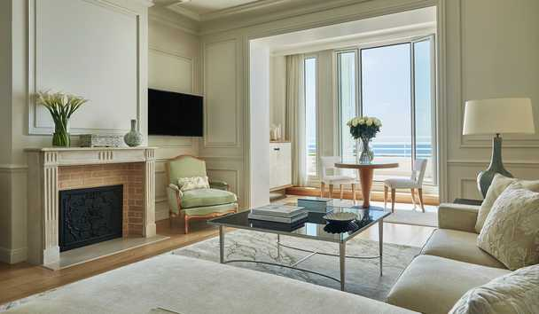 Grand-Hôtel du Cap-Ferrat, A Four Seasons Hotel: Palace Sea View Suite