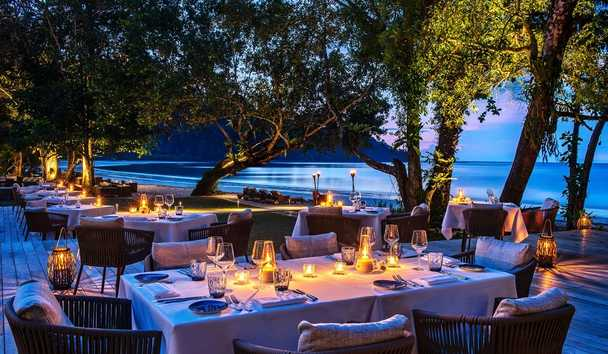 The Datai Langkawi: The Beach Club Dining