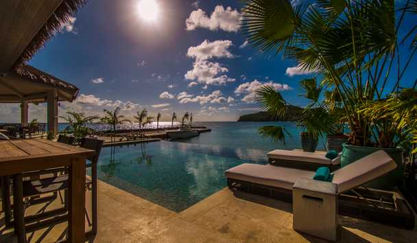 The Liming, Bequia: Villa Infinity Pool