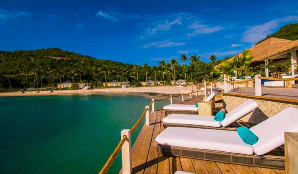 The Liming, Bequia: Sun Loungers