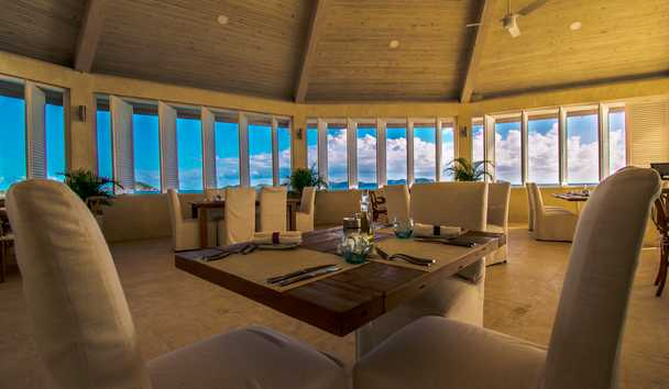 The Liming, Bequia: Indoor Dining