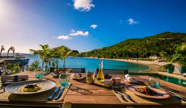The Liming, Bequia: Outdoor Dining