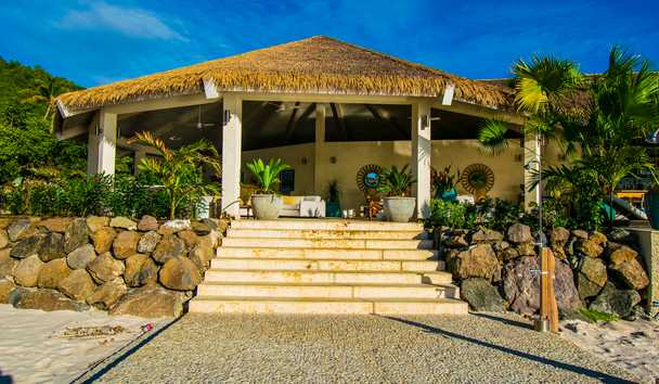 The Liming, Bequia: Spa Exterior