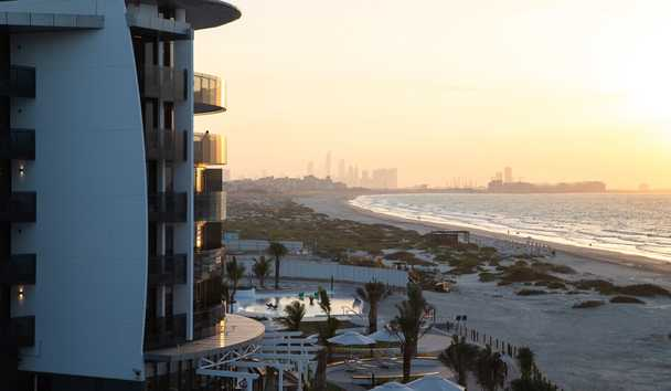 Jumeirah at Saadiyat Island Resort: Beach View