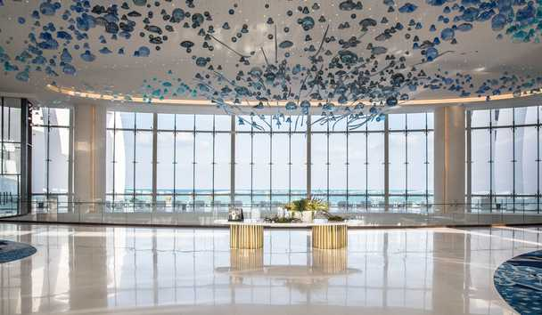 Jumeirah at Saadiyat Island Resort: Lobby