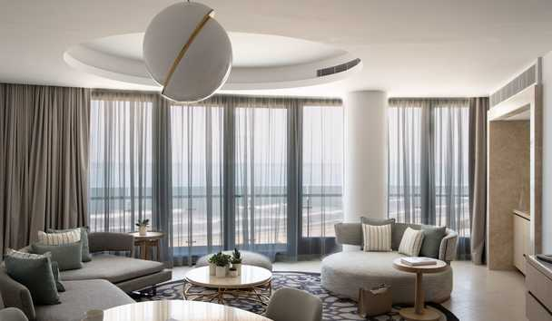 Jumeirah at Saadiyat Island Resort: Panoramic Suite