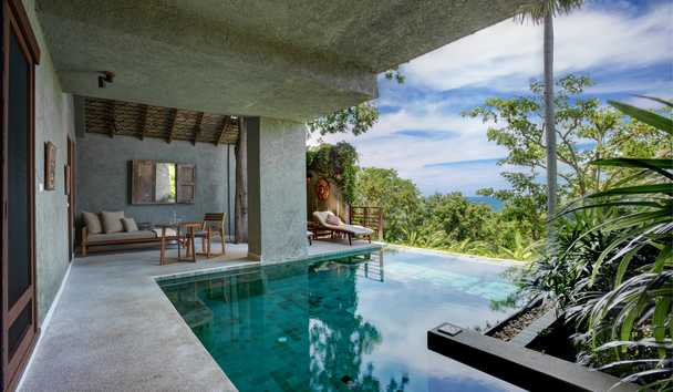Kamalaya Koh Samui Wellness Sanctuary and Holistic Spa: Garden Pool Suite