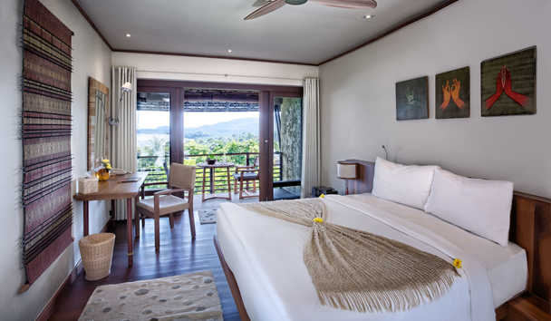 Kamalaya Koh Samui Wellness Sanctuary and Holistic Spa: Hillside Sea View Room
