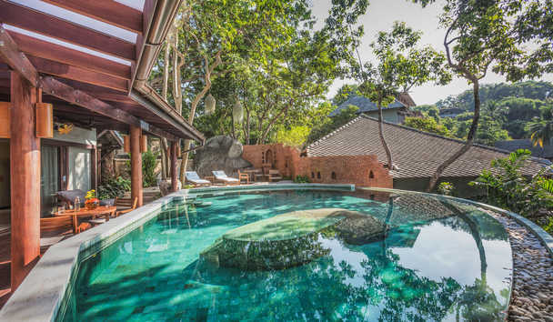 Kamalaya Koh Samui Wellness Sanctuary and Holistic Spa: Rock Top Villa