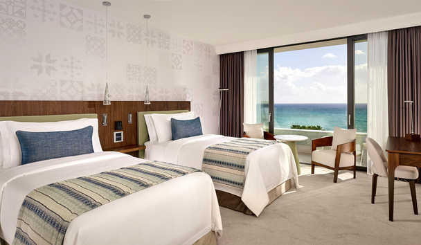 Parklane, a Luxury Collection Resort & Spa: Superior Sea View Twin Room